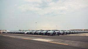 BYD Tang SUV 100% elétrico com tração integral.